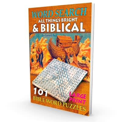 word search bible book